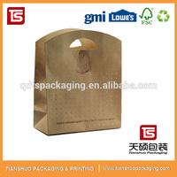 Cheap Kraft Cheap Paper Bag With Printing , Gift Wine Paper Bag ,Cheap Paper Shopping Bag