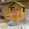 cubículo de madera casa de juego