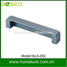 Matt chrome zinc alloy bedroom pull handles factory