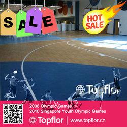 Plastic sports floor vinyl flooring used for fitness gym or active region