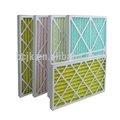 Fibra sintética pre filtro de malla con marco de papel, marco de papel de filtro de aire