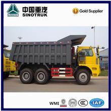 SINOTRUK Coal mining dump trucks 70Ton for sale