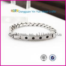 mens negative 4000 ions charm bracelet
