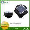 2014 solar wall fan small solar fan for the home