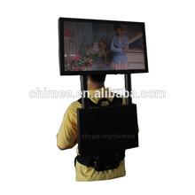24 inch backpack advertising human walking mobile billboard