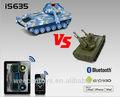 والروبوت weccan ios أجهزة التحكم في صناعة اللعب دبابة عسكرية
