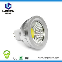 High power COB 3 serials and 5 parallel 80 degree factory 12v led spot light mr16