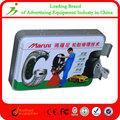 boa venda de tubo de policarbonato anúncio caixa de luz