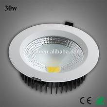 Bathroom high power cool white waterproof led downlights