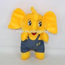 Juguetes baratos de los cabritos en línea mimoso pequeño elefante juguetes