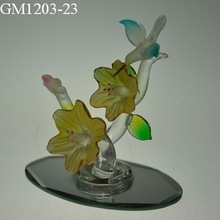 2014 Colored Glass Flower Craft Suppliers