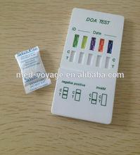 2014 Nantong Voyage High Quality Medical Diagnostic 5 Panel urine Drug test