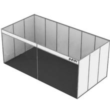Portable Aluminum Extrusion Trade Show 3x6 Exhibition Booth