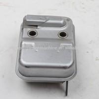 Replace:Kawasaki TJ53E brush cutter,grass trimmer engine muffler