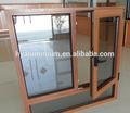Anhui de alta- final de aluminio de la transferencia de madera con puertas correderas ferrocarril