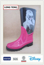 2014 sexy ladies fashion rubber rain boots with nude women picture