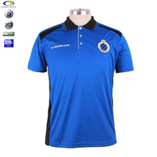 OEM high quality embroidery dri fit polyester brand polo t shirts