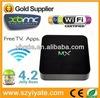 Amlogic 8726 MX M6 XMBC Cortex A9 Dual Core Android Smart TV Box azbox titan