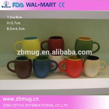 ceramic earthenware decorative beer mug