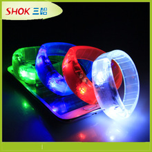 LED Promotional flashing led bracelet