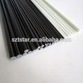 alta qualidade de fibra de carbono voar varas de pesca para venda