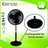 Rechargeable fan 16 inch usha with touch screen button emergency standing fan