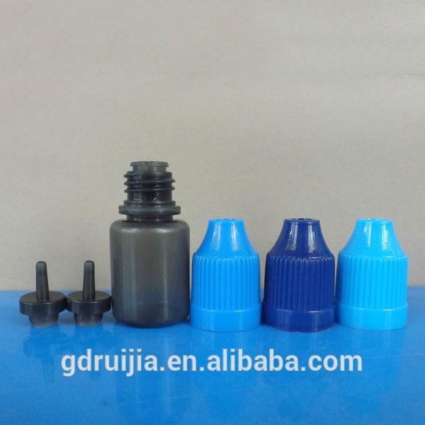 novo design 5ml reciclado escuro garrafasdeplástico atacado