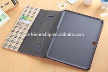 leather book portfolio case for samsung galaxy tab4 10.1 T530