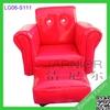 New design modern child size sofa, mini kids sofa red, kids sofa seats