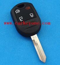 High quality car key For Ford 4 button remote key 315 MHZ 433MHZ auto keys
