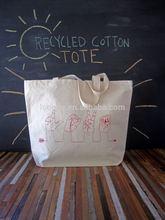 Eco-friendly Germany quality custom heavy duty cotton canvas shoulder bag