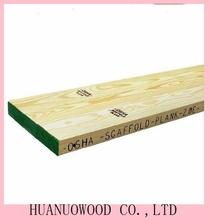 pine lvl boards / lvl wooden scaffolding plank laminated veneer lumber