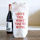 Eco-friendly Germany quality custom cotton wine bottle bag