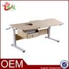foshan wholesale metal frame home school furniture height adjustable children desk S-002D