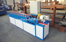 Portable Saw Cut Color Steel Aluminium Shutter Door Slat Roll Forming Machinery