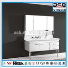 2014 Stainless Steel floor model bath vanity