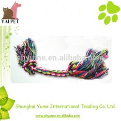 Mixed Colors Bone Tug Rope Dog Toys