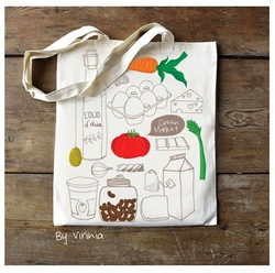 Eco-friendly Germany quality custom colorful cotton shopping bags