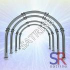 Underground tunnel U shape steel roof support beams