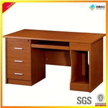 Color bright computer table design specifications,corner computer desk