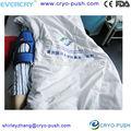 Post- op articulada estabilizador do joelho joelho cinta ajustável ângulo do joelho cinta