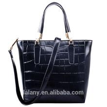 Ellegant big leather handbag and shoulder bag big size for ladies