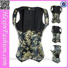 jacquard wholesale steel boning underbust corset waist training