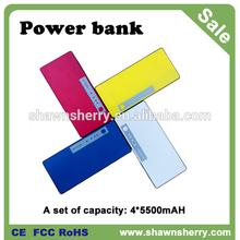 5500mAH portable phone charger