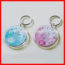 Custom design acrylic custom charms with logo printed