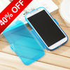 Comfortable touch Matte surface Flip TPU Case TPU Gel Back Cover For Galaxy S4