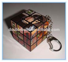 China manufacture Promotional mini plastic magic cube