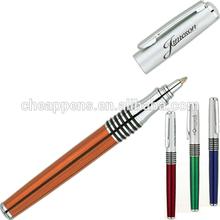 orange color metal pen