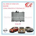 auto del radiador para nissan sylphy mt