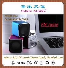 MUSIC ANGEL mini speaker JH-MD07D pro sound speakers speaker 2014 design